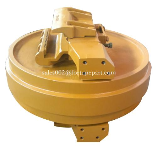 Excavator undercarriage parts track adjuster idler