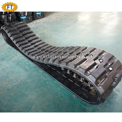 Agricultural and Harvester undercarriage rubber track