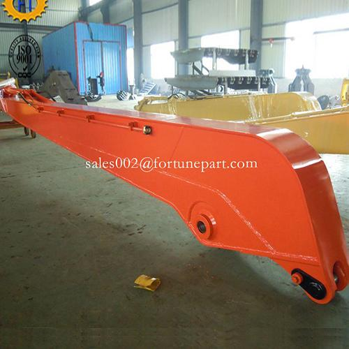 Hyundai excavator long reach boom and arm