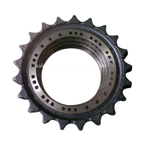 Caterpillar excavadora sprocket